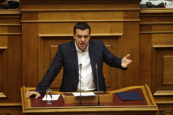 It's been a hard sell for Alexis Tsipras to push the bailout reform conditions on the people, many of whom say they feel betrayed by a leader who originally campaigned as the anti-austerity candidate [Xinhua]