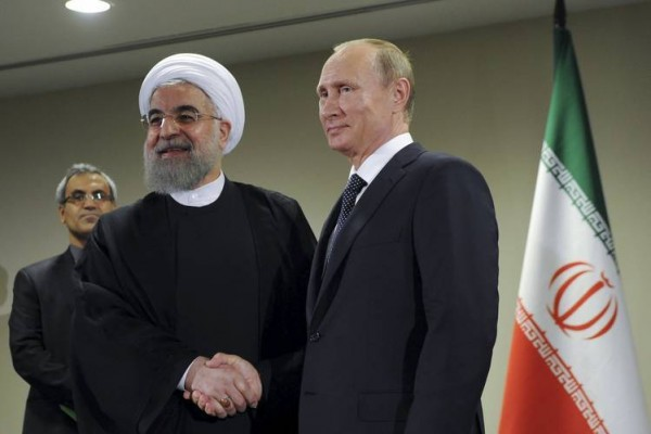 During his visit to Tehran, Monday Putin said that Russia's military strategy in Syria would have been impossible without Iran's help [Xinhua]