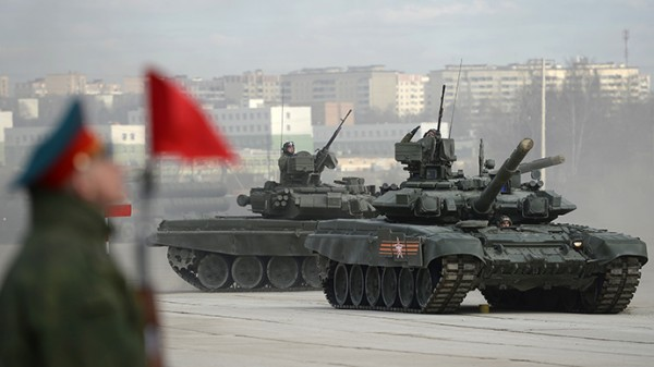 The combat vehicles are the current mainstay of the Russian army [Image: Russian Defense Ministry]