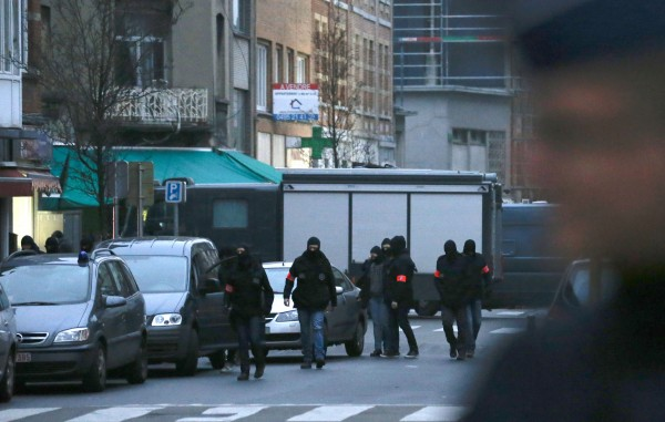 Brussels had already been on high alert after a key suspect in the Paris attacks was arrested [Xinhua]
