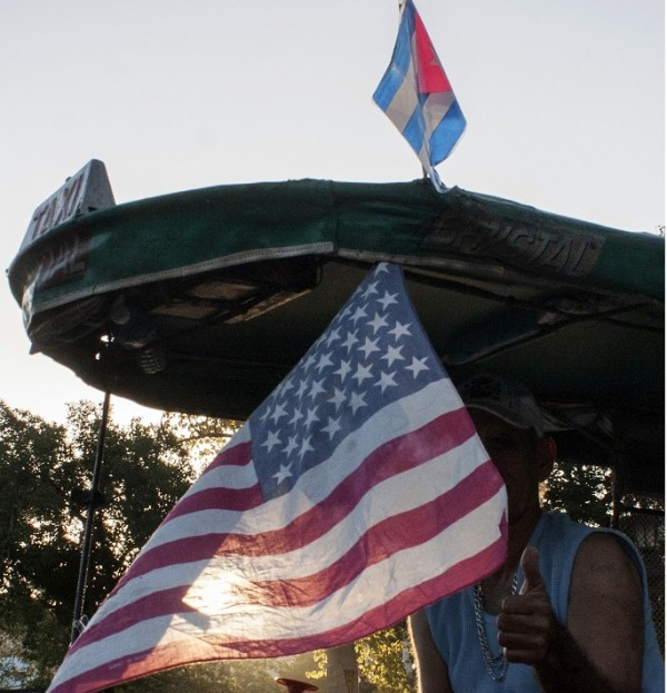 Cubans have been eagerly awaiting Obama's visit to Havana - the first for a US president in 88 years [Xinhua]