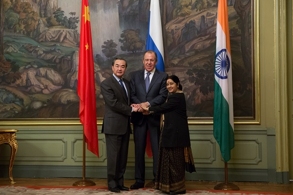 Russia, China, India FMs discuss ties at Moscow meet | The ...