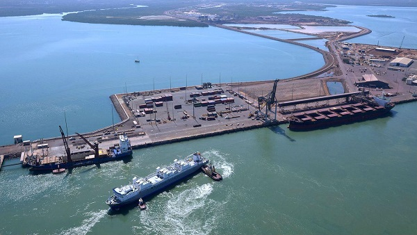 The 99-year lease of the port of Darwin to Chinese firm Landbridge has been criticised by Washington [Image: NT Government]