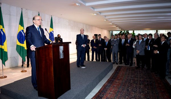 Senator José Serra (affiliated with the São Paulo chapter of party PSDB) took office as the Brazilian minister of Foreign Relations on 18 May 2016 [Image: Itamaraty, Brazil]