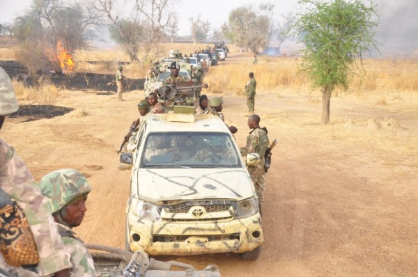 Nigerian forces, backed by other West African military units, have seized territory from Boko Haram in the northeast of the country [Xinhua]
