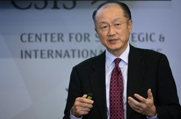 World Bank president Jim Yong Kim says low commodity prices have cut into hopes of a resurgence in emerging economies [Xinhua]