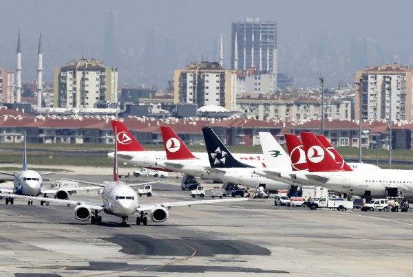 File photo of Istanbul's Ataturk airport where at least 28 people were killed in a terrorist attack on Tuesday [Xinhua]