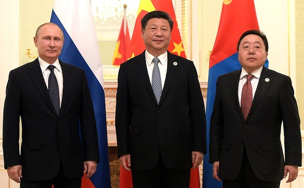 China Russia Mongolia Ink Agreement On Economic Corridor The