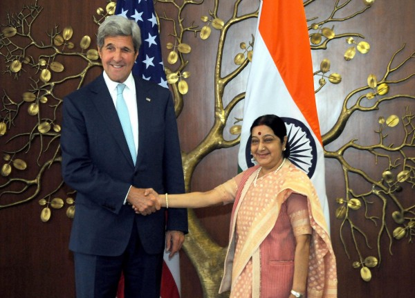 Both Kerry and Swaraj agreed that Pakistan must do more to end militants using its territory to launch terrorist attacks against India [Xinhua]