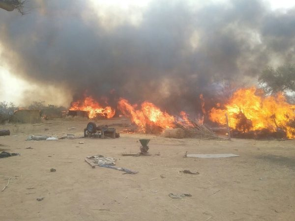 Nigerian and West African forces have managed to destroy several Boko Haram camps in Borno State in recent months [Xinhua]