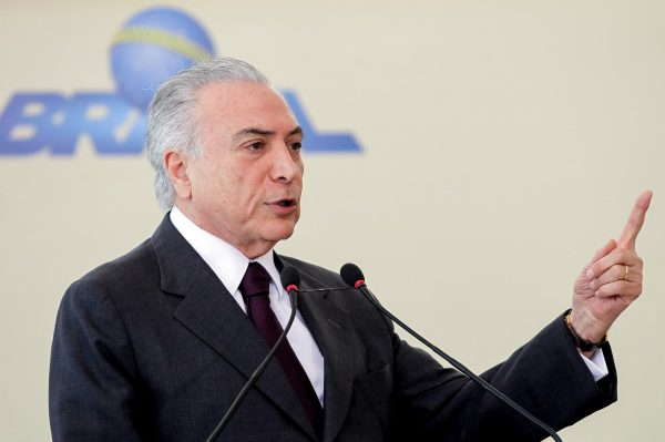 Temer wants to raise taxes and cut public spending [Xinhua]