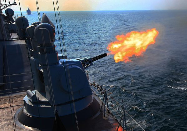 China and Russia are about to conclude joint naval exercises in the South China Sea [Xinhua]
