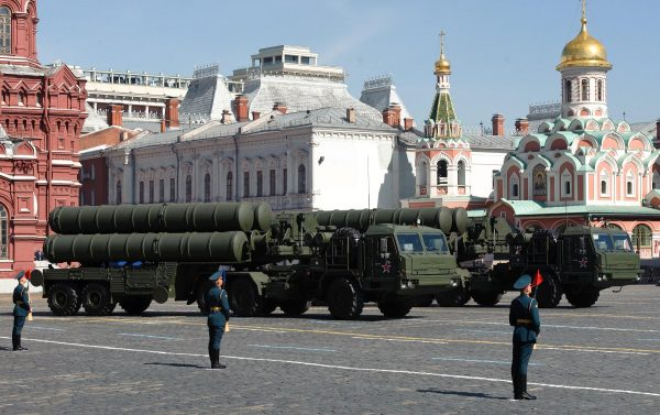 The S400 surface to air missile system is Russia's most advanced air defense system [Xinhua]