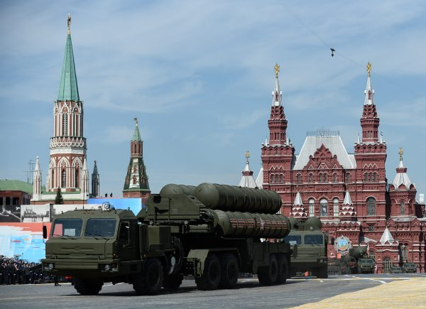 S-400 surface to air batteries (such as the ones in the Red Square during the military parade marking the 70th anniversary of the victory in the Great Patriotic War) in Moscow have been deployed to Syria [Xinhua]