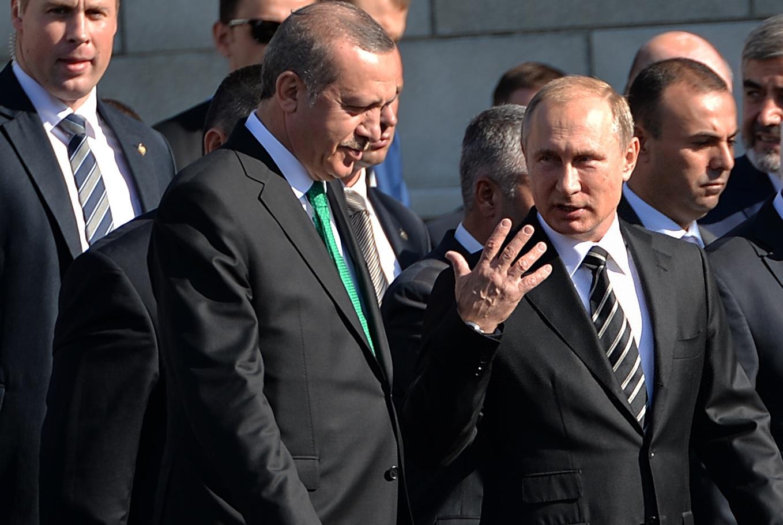 Putin, Erdogan boost Russian-Turkish trade ties