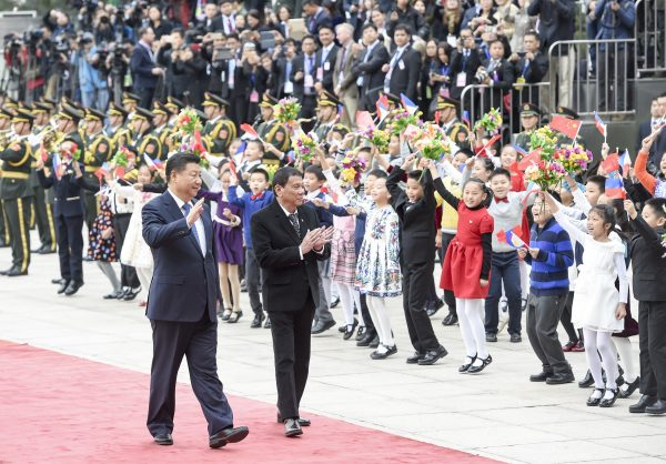"Xi called Duterte's visit a ""milestone"" in China-Philippine relations [Xinhua]"