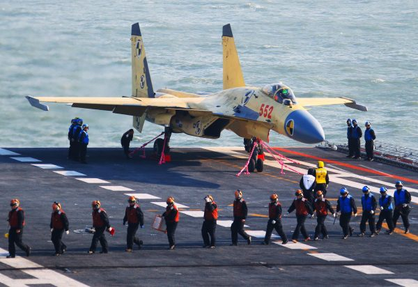 The Liaoning has been carrying out drills in the South China Sea since early December [Xinhua]