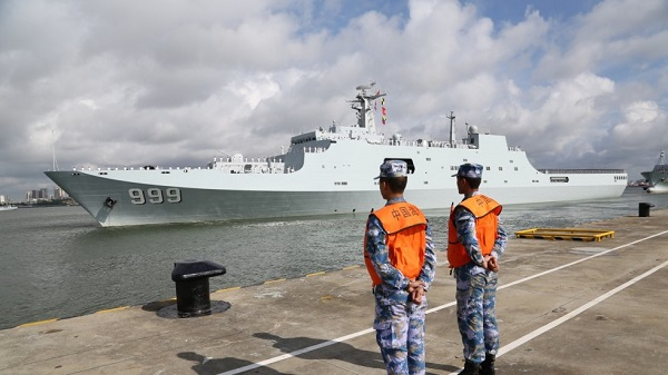 China sends troops to Djibouti, establishes first overseas military base