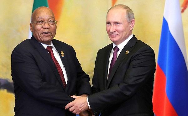 Putin meets Modi and Zuma, vows to deepen ties | The BRICS Post