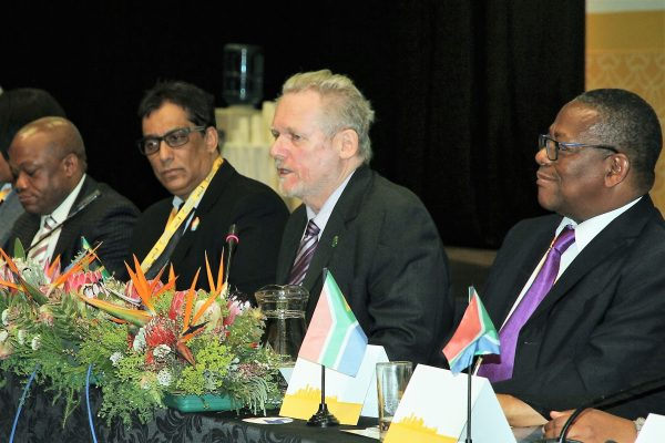 South African Trade Minister Rob Davies Condemns Us Trade War